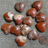 BRECCIATED JASPER HEARTS #4