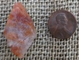 LAVA FIRE SUNSTONE CRYSTAL #33
