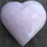 PINK CALCITE HEART #14