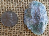 FUCHSITE AND BLUE KYANITE (ROUGH) #8