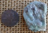FUCHSITE AND BLUE KYANITE (ROUGH) #10