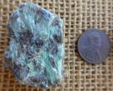 FUCHSITE AND BLUE KYANITE (ROUGH) #11