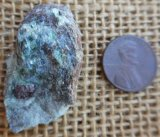 FUCHSITE AND BLUE KYANITE (ROUGH) #13