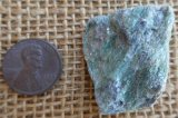 FUCHSITE AND BLUE KYANITE (ROUGH) #14