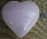 PINK CALCITE HEART #15