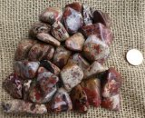Brecciated Jasper Shapes and Tumbles