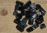 BLACK TOURMALINE CRYSTALS (MADAGASCAR) #7