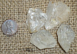 CLEAR/WHITE TOPAZ CRYSTALS (BRAZIL) #16