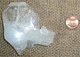 CLEAR QUARTZ TABULAR CRYSTAL #13