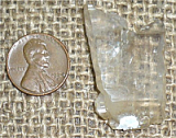 CLEAR QUARTZ TABULAR CRYSTAL #11