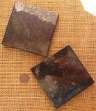 Shungite Tiles (Type II) (Use Under Routers and Other Electronics or Under Your Food Plates) (Type II)