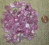 Rubellite and Other Pink Tourmaline Crystals and Tumbles