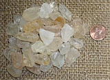 CLEAR/WHITE TOPAZ CRYSTALS (BRAZIL) #3