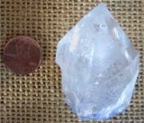 DUMORTIERITE IN QUARTZ CRYSTAL #23