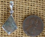 STERLING SILVER NUNDERITE PENDANT #3