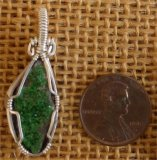 Uvarovite/Green Garnet--Jewelry