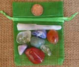 CRYSTAL SET FOR THE CHAKRAS (PHYSICAL HEART CHAKRA) #1