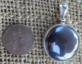 STERLING SILVER HEMATITE PENDANT #6